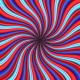 Crazy Undulating Psychedelic Rays