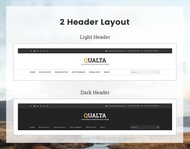 Qualta - Responsive WordPress Blog Theme - 7