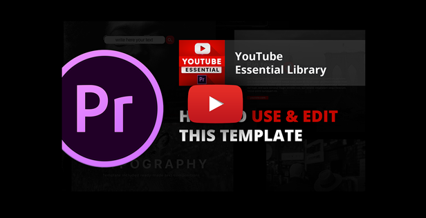 Youtube Essential Library | MOGRT for Premiere - 16