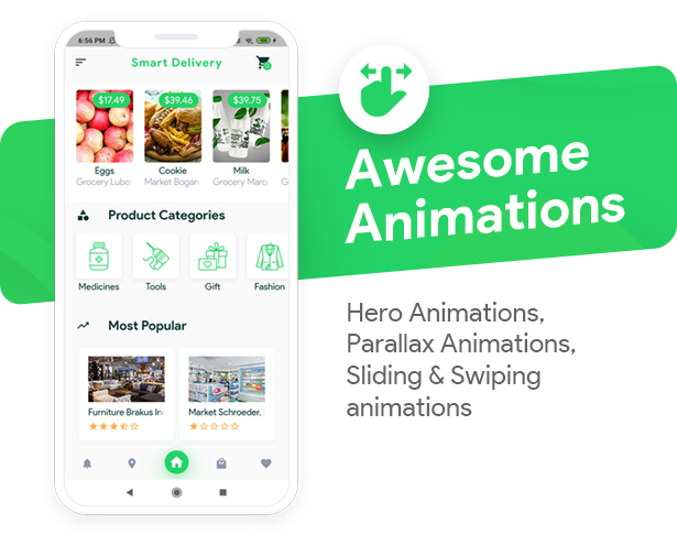 Grocery, Food, Pharmacy, Store Delivery Mobile App with Admin Panel - 4