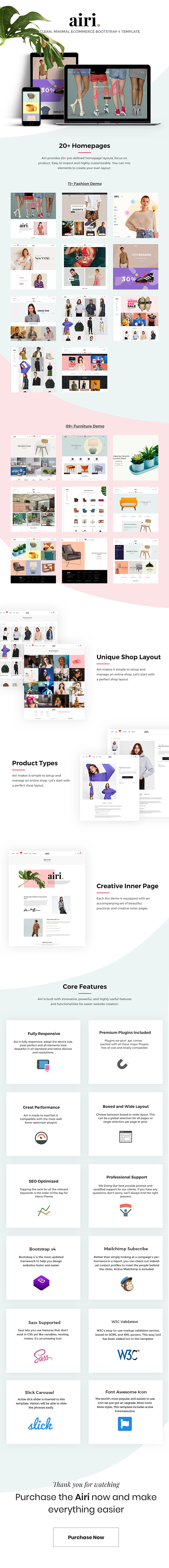 Minimal eCommerce Bootstrap 4 Template