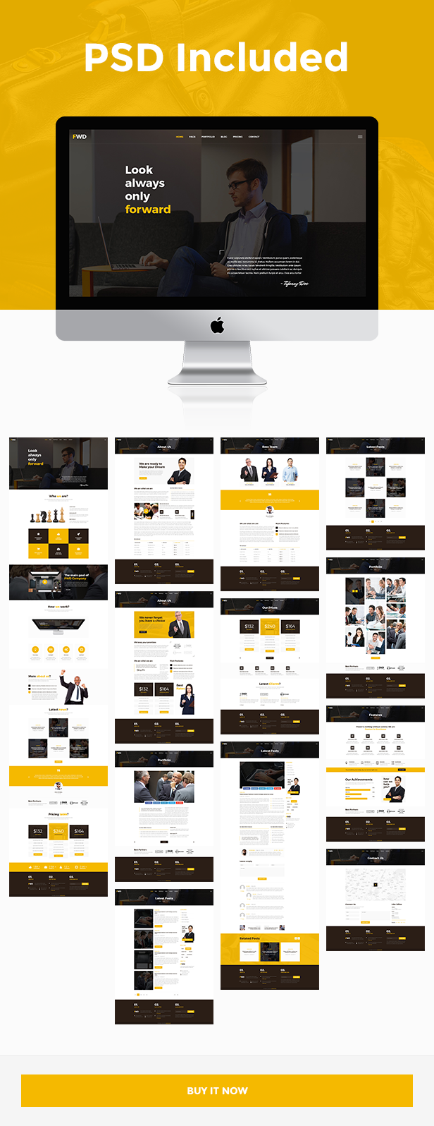 Forward HTML Template