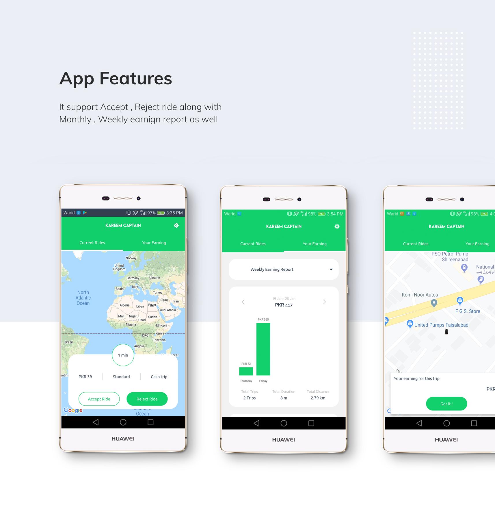 Kareem Taxi App - Cab Booking Solution + admin panel - 15