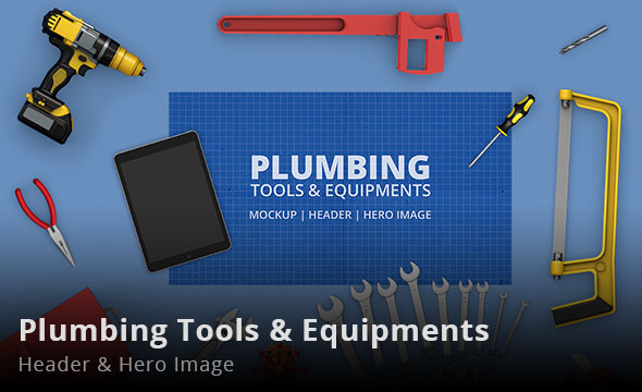 Plumbing Tools & Equipments Header and Hero Image