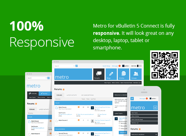 metro a theme for vbulletin 4 and 5 by pixelgoose themeforest