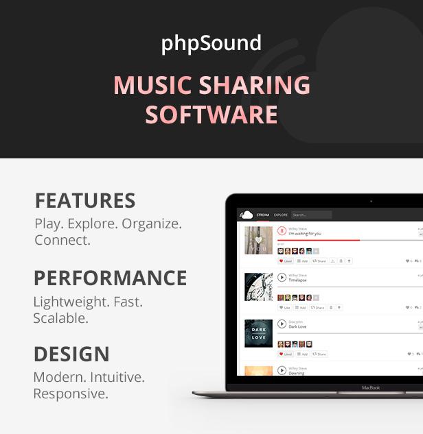 phpSound - Music Sharing Platform - 3