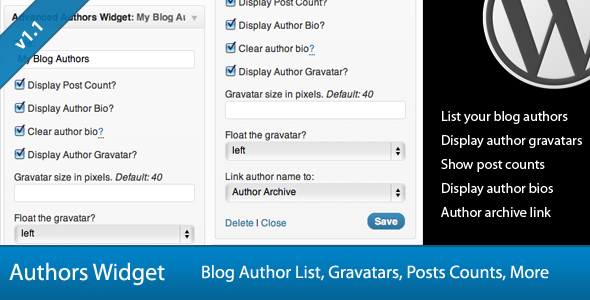 Advanced WordPress Widget Bundle - 2