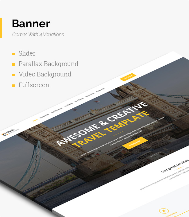 Travelly - Travel, Tourism & Agency HTML Landing Page - 6