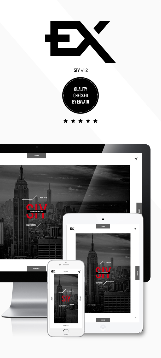 Siy - Under Construction Template