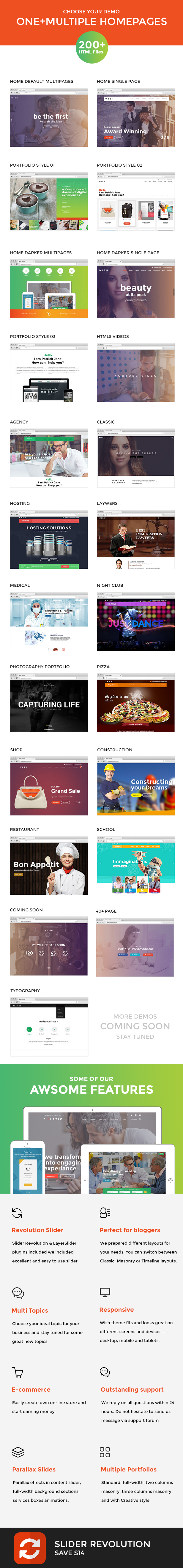 Wish-Multipurpose MultiPage + One Page - 7