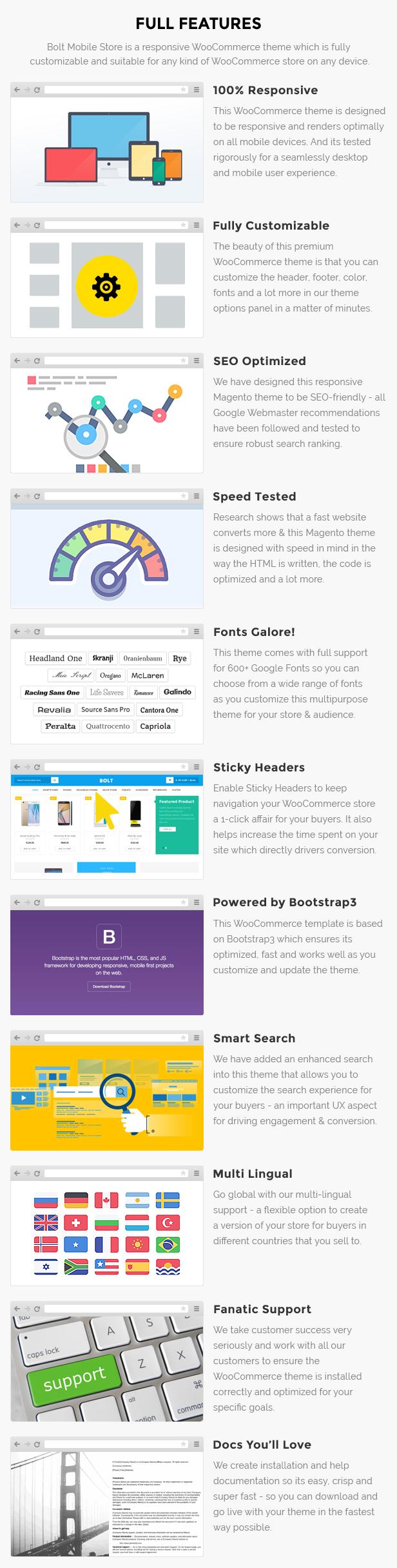 Bolt - Mobile Store WooCommerce WordPress Theme