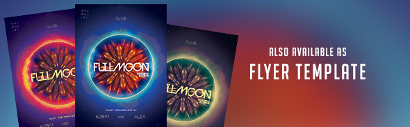 Fullmoon CD DVD Cover Artwork - 1