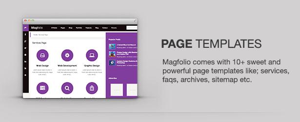 Magfolio - WP WooCommerce Portfolio Blog Theme 58