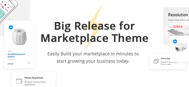 Bicomart Marketplace PrestaShop Theme