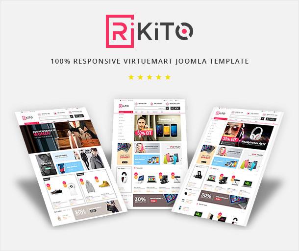 Vina Rikito - Responsive VirtueMart Joomla Template - 6
