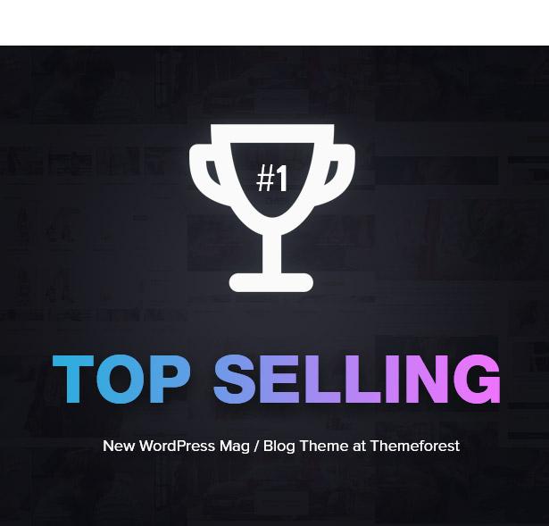 Top selling blog & magazine