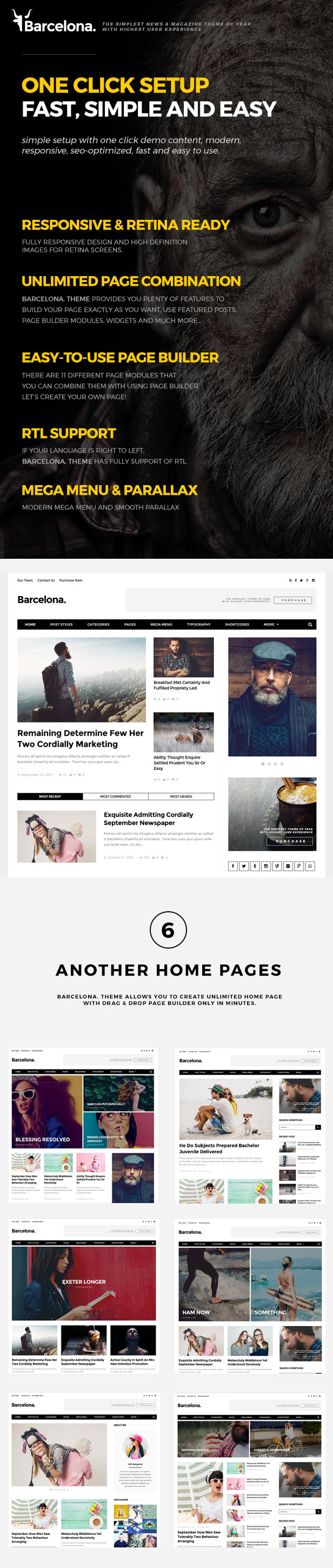 Barcelona. - Clean News & Magazine WordPress Theme - 1