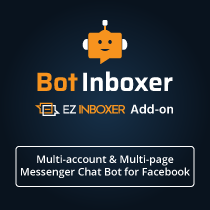 Messenger Engagement - A Bot Inboxer Add-on : A Power Pack of 5 Messenger Engagement Tools - 18