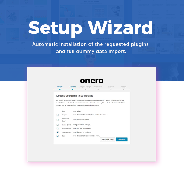 Onero | Creative Portfolio Theme for Professionals - 7