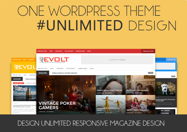 Revolt - Multipurpose WordPress Magazine Theme by Wpsmart | ThemeForest