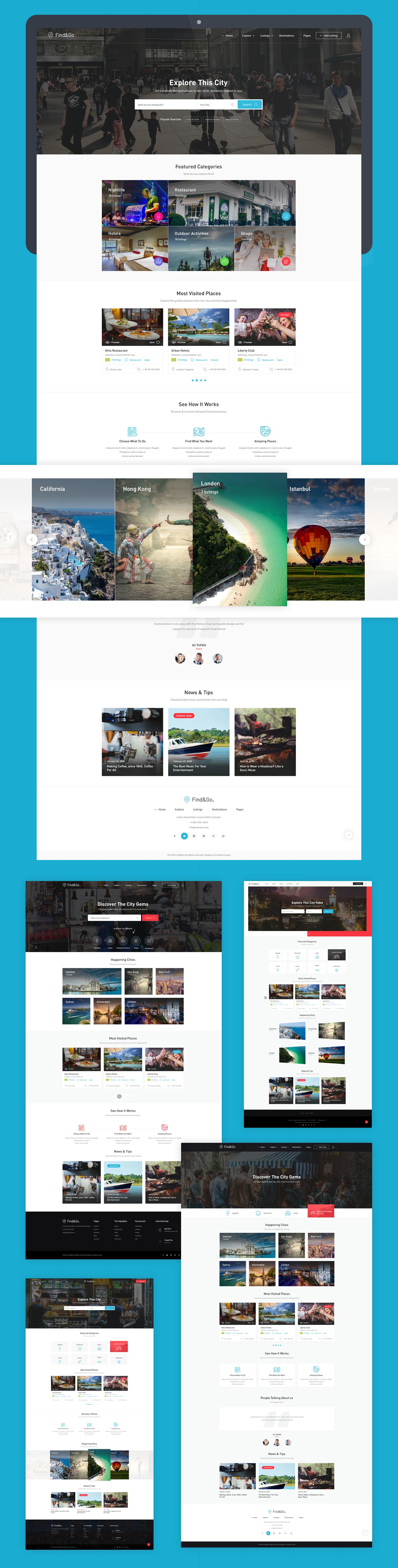 Findgo - Directory Listing WordPress Theme - 3