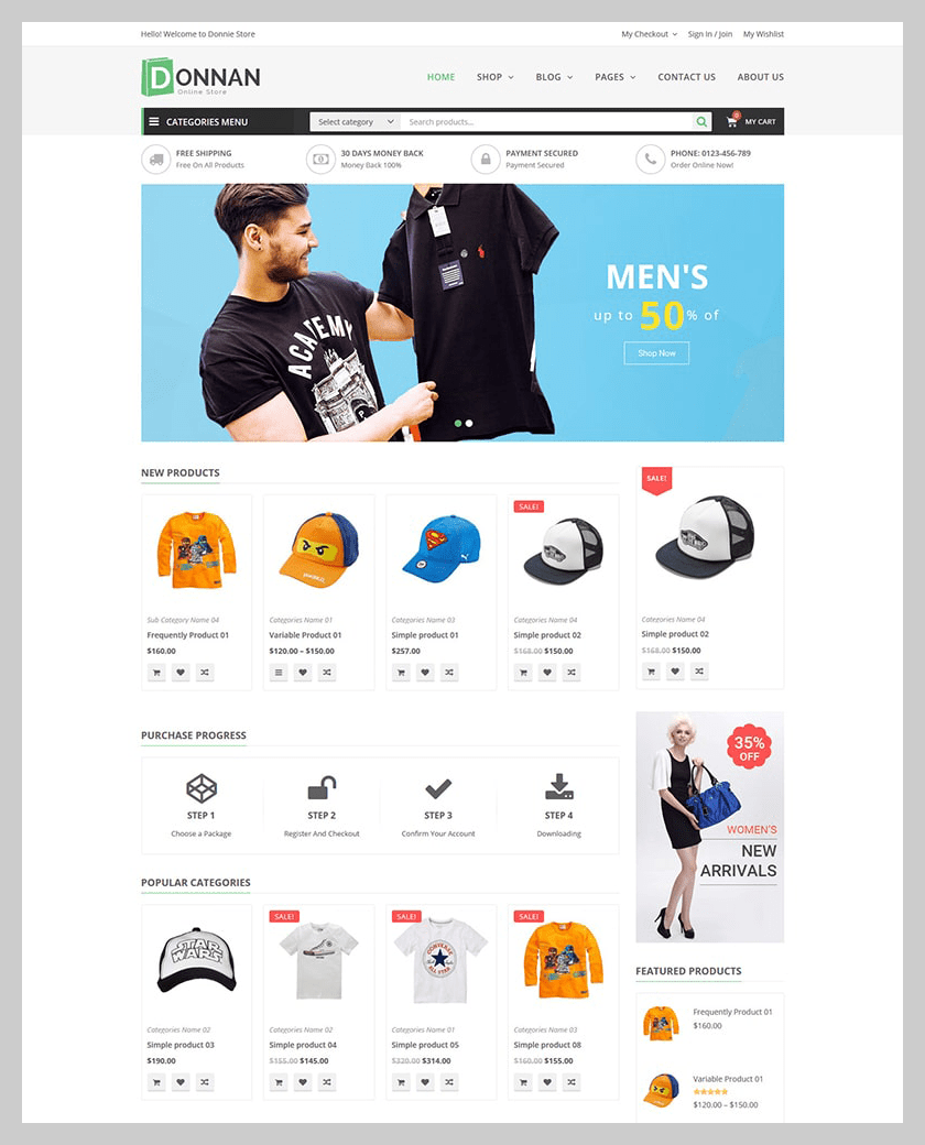 VG Donnan - Multipurpose Responsive WooCommerce Theme - 9