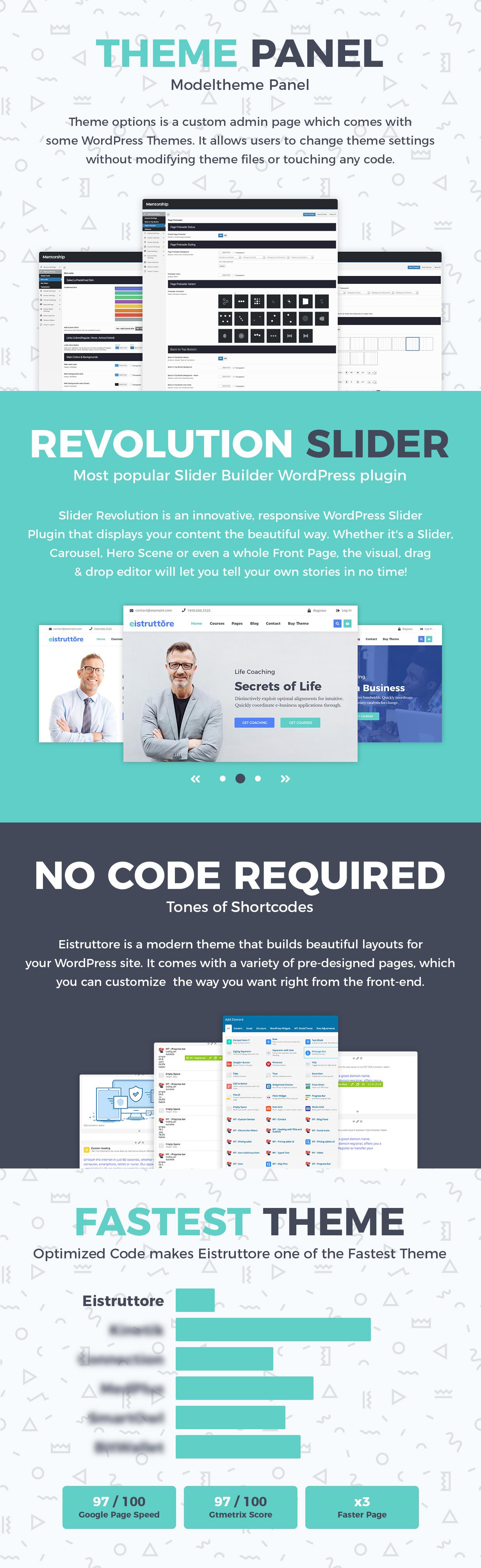 Eistruttore - Speaker and Life Coach WordPress Theme - 3