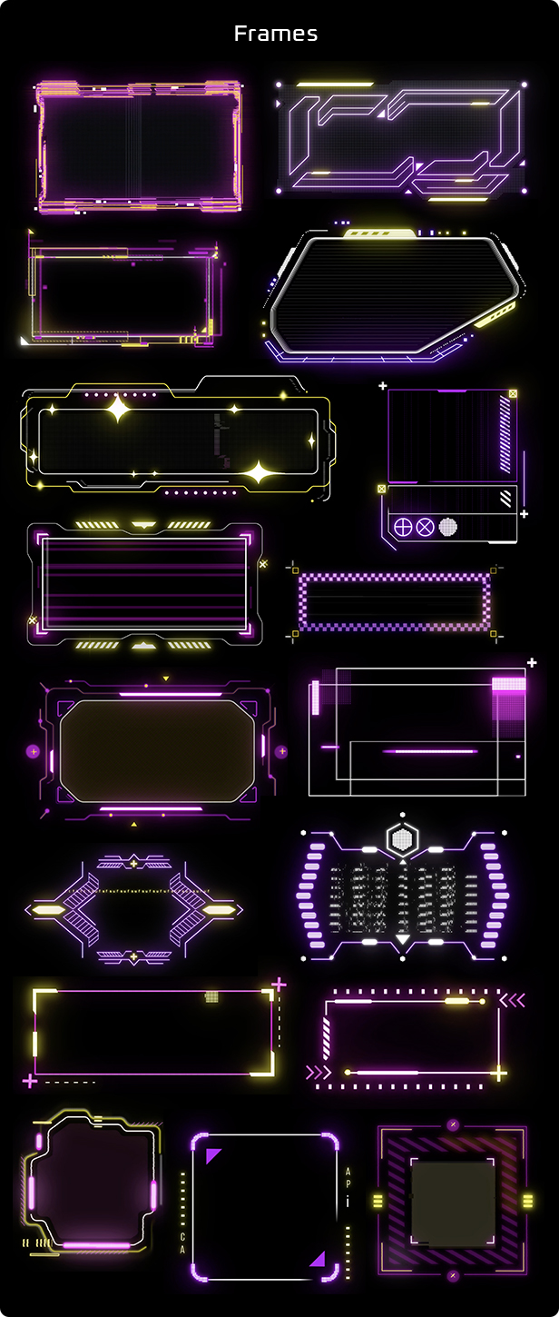 Cyberpunk HUD Elements for After Effects - 19