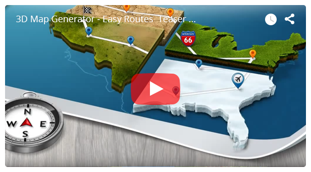 3d map generator pro easy routes by orangebox graphicriver 3d map generator pro easy routes gumiabroncs Choice Image