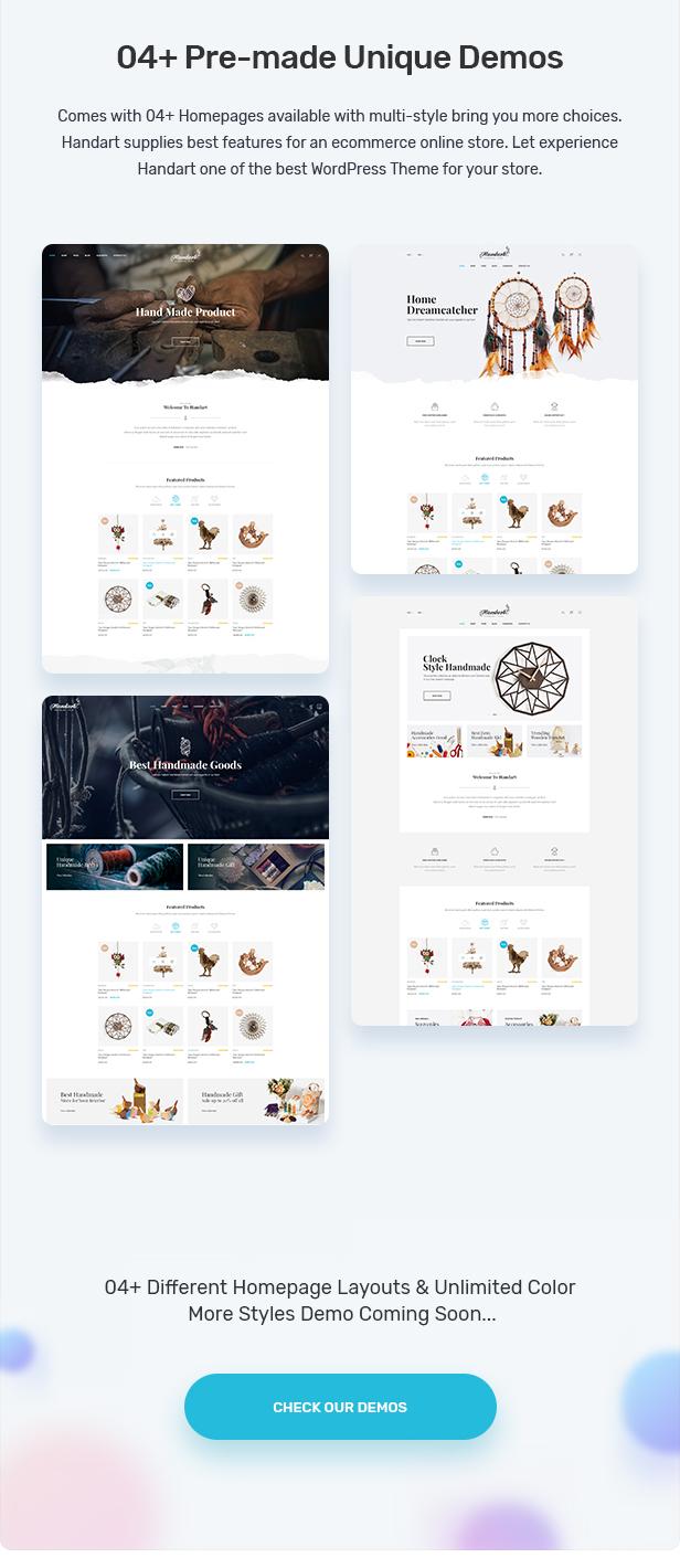 Handart - Handmade Theme for WooCommerce WordPress 21