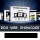 PRO 3d Web Showcase Mock-ups