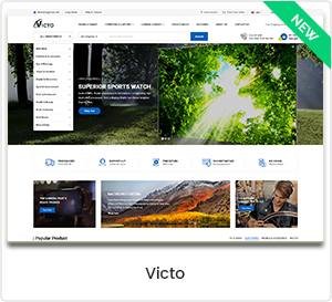 Victo - Multipurpose eCommerce & MarketPlace WordPress Theme