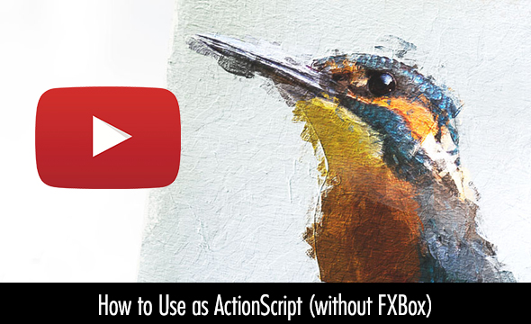 Animated Real Paint FX - Photoshop Add-On - 9