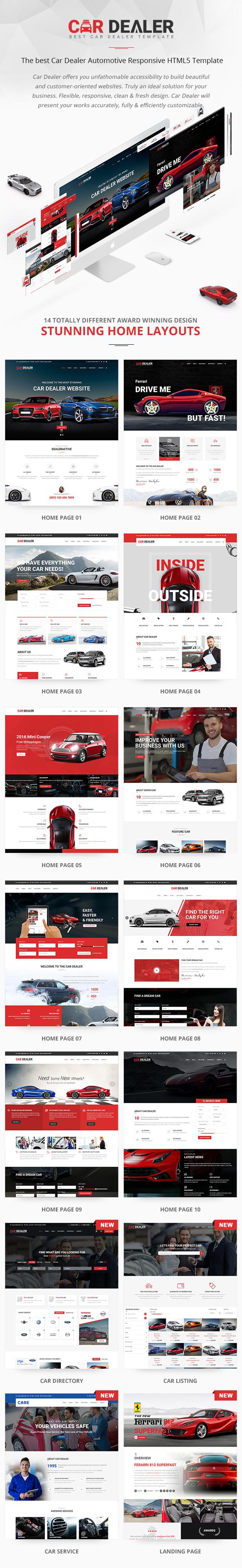 Car Dealer - Automotive Responsive HTML5 Template - 4