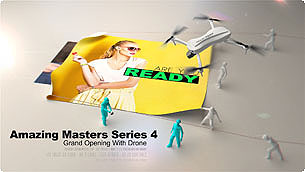 Amazing Masters Series 4 - Grand Opening With Drone