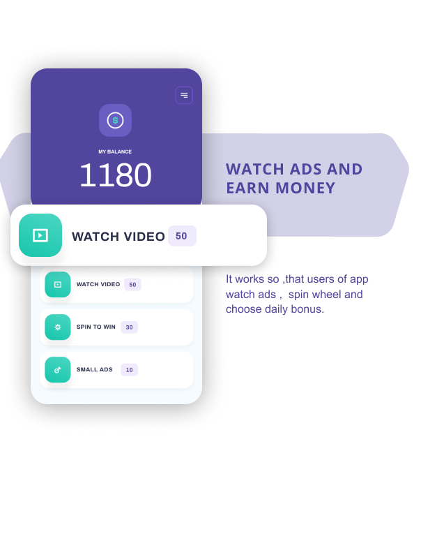 Watch And Earn - Android App Source Code - 4