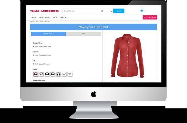 WooCommerce Ladies Shirt Tailor - 7