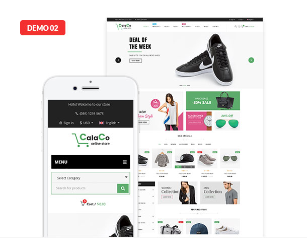VG Calaco - Clothing and Fashion WordPress Theme - 18