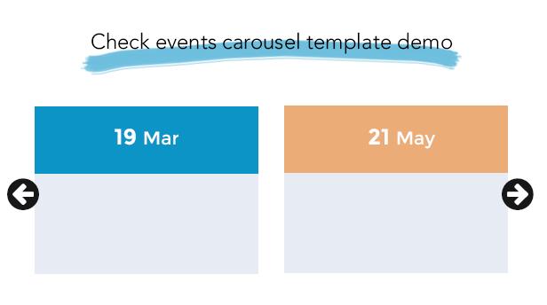 The Events Calendar Shortcode and Templates Pro  - WordPress Plugin - 6