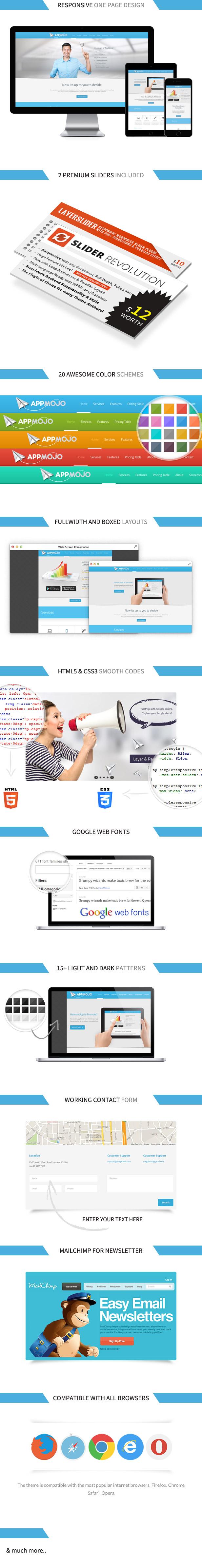 App Mojo - Single Page Software Promotion HTML - 4
