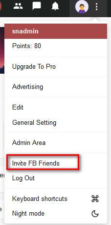 Facebook Invite Addon For WoWonder - 6