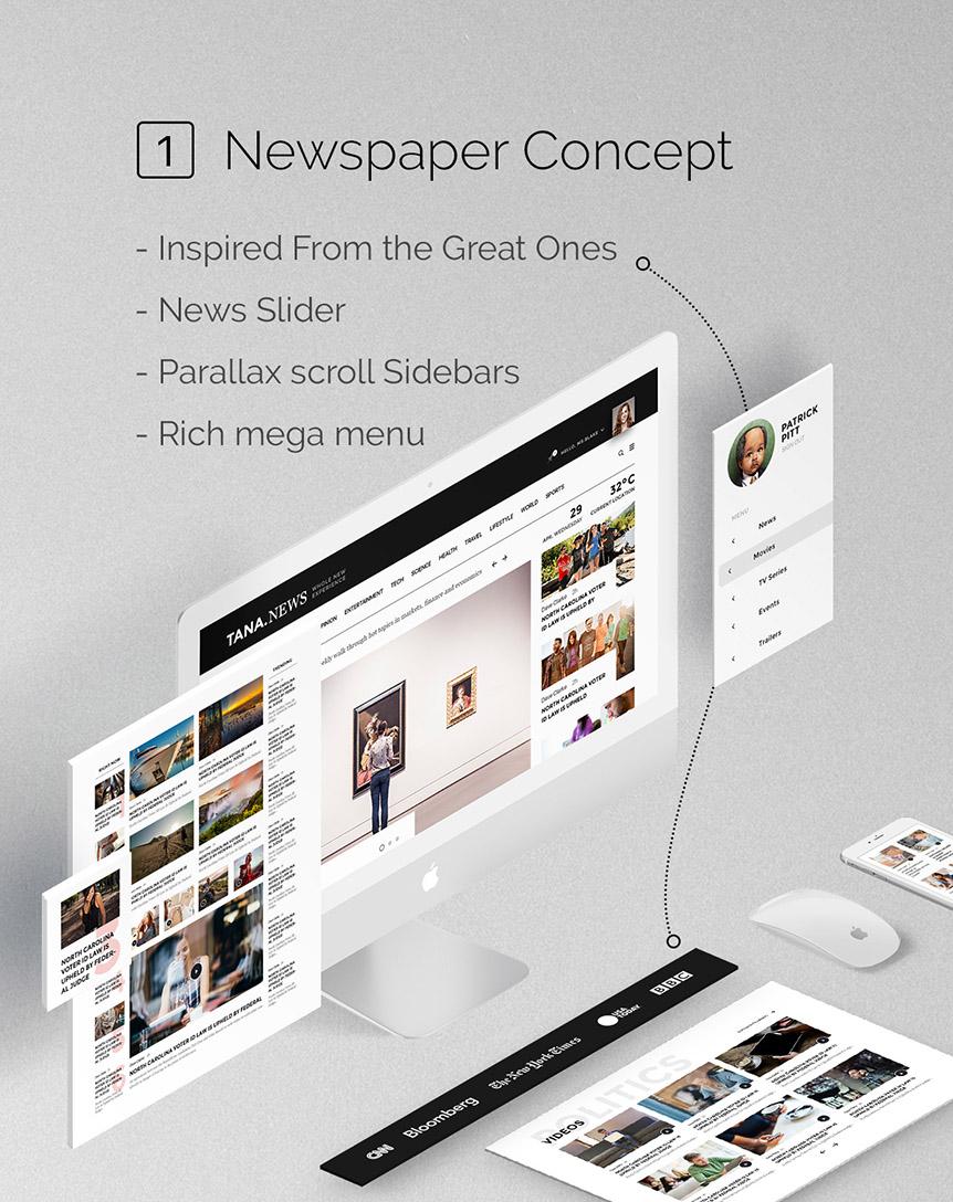 Tana Magazine Newspaper