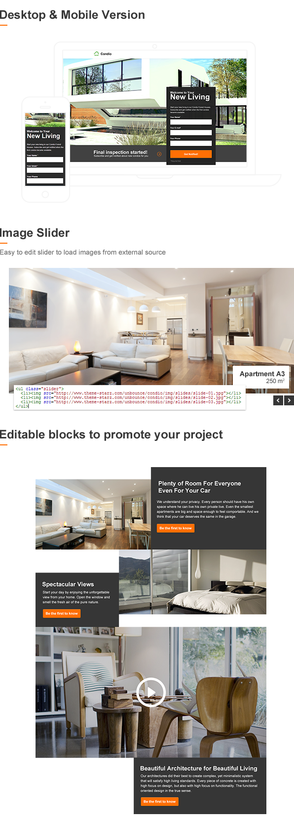 Condio - Real Estate Landing Page for Unbounce - 7