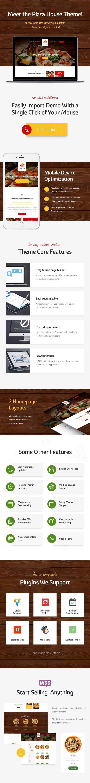 Pizza House - Restaurant / Cafe / Bistro WordPress Theme - 1