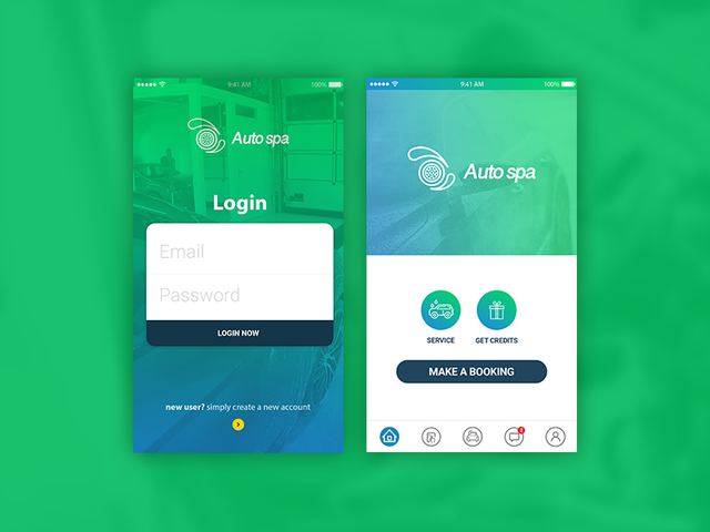 On Demand Car Wash Service Booking App Template Autospa By Codeinfotec