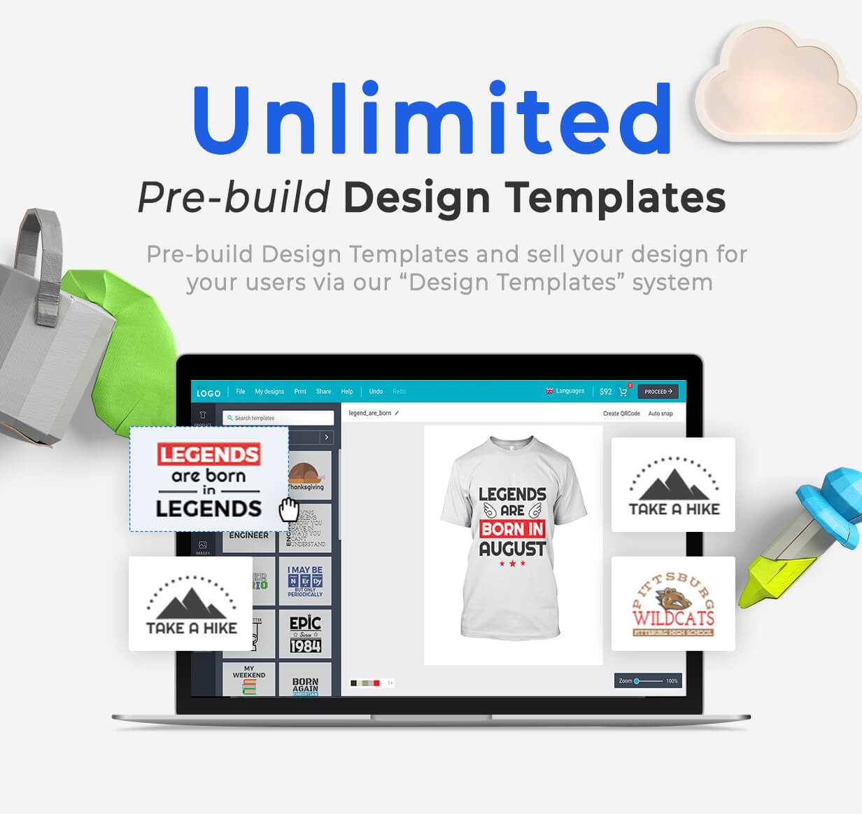 Product Designer for WooCommerce WordPress | LUMISE.COM - 15