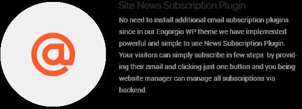 site news subscription plugin