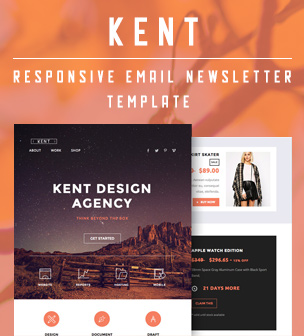 kent email template