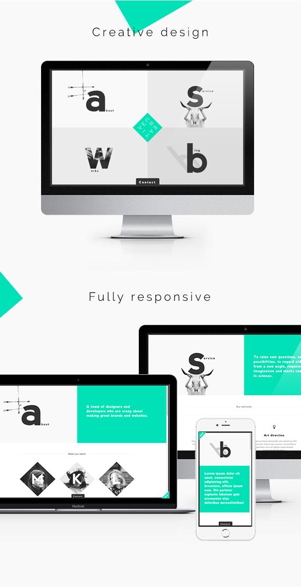 Creative - Portfolio & Agency WordPress Theme by honryou | ThemeForest