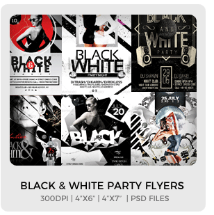 Abstract Party Flyers Bundle Vol1 - 11